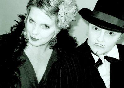 Eva jako Johny Depp alias Bramboras