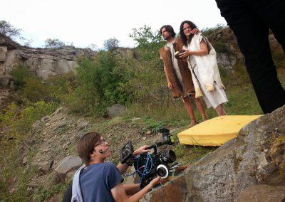 Natáčení Adam a Eva