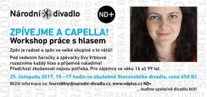 Pěvecký workshop - Eva Vrbková